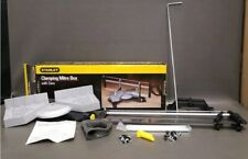 """New Open Box, Stanley Clamping Mitre Box with 22"""" Saw, Angle Adjustment 20-800"""