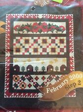 JoAnn Fabrics 2000 Holiday Tidings February Step 2 Quilt Block Pack Month 2