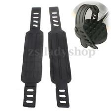 Pair Generic Pedal Strap Belt For Most Schwinn & More Stationary Exercise Bike