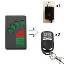 Remote Control Kit For ATA Securalift EasyRoller TX-4 Large Green Button Handset