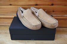 NEW Men UGG Ascot Chestnut/Navy Slippers UK SIZE 10