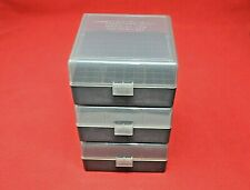 223 / 556 (3 Pack) Ammo Boxes / Storage (Smoke Color) Berry'S Mfg