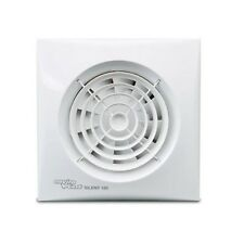 Envirovent SIL100HT Silent 100mm White Extractor Fan for Bathroom or Toilet with