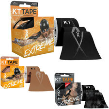 "KT Tape Pro Extreme 10"" Precut Kinesiology Therapeutic Sports Roll - 20 Strips"