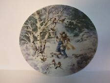"Collectible Plate ""Frosty Chorus"" (Knowles)"