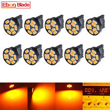 10 x T20 7440 W21W Amber Orange LED Bulbs Car Front Rear Turn Signal DRL Light