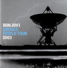 BON JOVI  2003 BOUNCE TOUR CONCERT PROGRAM BOOK / RICHIE SAMBORA / SILVER