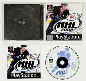 SONY PlayStation EA SPORTS NHL 2000 dt PAL Eishockey