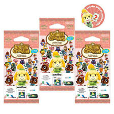 ANIMAL CROSSING AMIIBO CARDS SERIES 4 PACKET! 1 x PACKET OF 3 CARDS