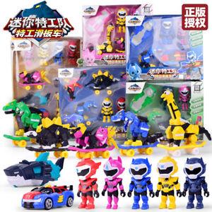 Miniforce Super Dino power 2 Ranger Set Robot Toy Bolt Max Leo Semi Figure