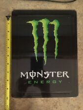 Monster Energy Drink Tin Metal Collectible Sign