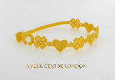 Genuine Italian Made Cruciani Bracelet-AMORE E FORTUNA(LOVE AND LUCK)-Yellow