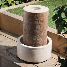 Water feature - Sandstone Outdoor Column