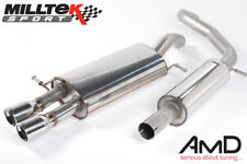 Milltek VW Polo GTi 1.8T Cat Back Exhaust Resonated SSXVW109