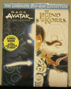 Avatar: Last Airbender + The Legend of Korra (The Complete Blu-Ray Collection)