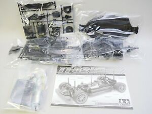 Tamiya 1/10 CHASSIS TT-02 4WD Rolling Chassis W/ MOTOR -KIT-