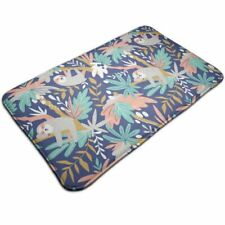 Cute Sloth Floor Mat Machine Washable Kitchen Room Doormat Carpet Home Decor