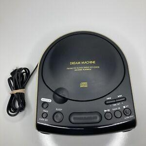 Sony Dream Machine FM/AM CD Dual Alarm Clock Radio ICF-CD815