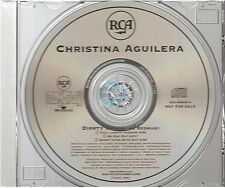 CHRISTINA AGUILERA dirrty CD PROMO