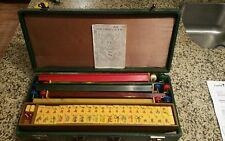 Vintage Mahjong Mah Jong Tile Set
