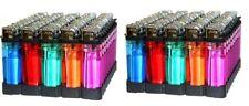 100 Count Wholesale Lot Classic Disposable Lighter Multipurpose Use Mix Color