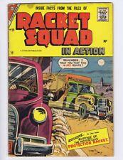 Racket Squad in Action 25 (FR) 1957 Charlton Comics crime (c#18755)