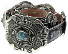 Sterling Silver Concho Belt