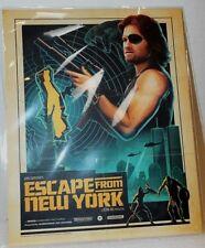 "New John Carpenter's Escape From New York Poster of Kurt Russell 8"" x 10"" 2016"