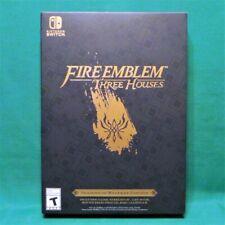 Fire Emblem Three Houses Seasons of Warfare Edition w/ Steelbook Nintendo Switch