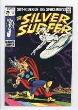 Silver Surfer #4 Vol 1 Very Nice Higher Grade Classic Thor vs Surfer Cover