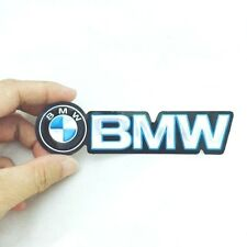 BMW EMBLEM STICKER LOGO 130 MM. MADE OF THIN FOIL PRINT ON