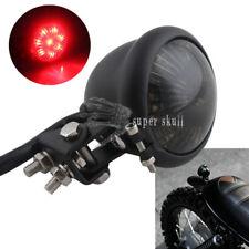 Black Motorcycle Retro Bates Style LED Tail Brake Light Lamp ATV KTM Dirt Bike