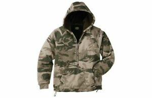 Cabela's Men's Outfitter Wooltimate Hooded Pullover 4MOST Hunting Camo Jacket