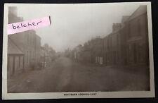 More details for 1925 whitburn west lothian main street shop fronts local rp postcard