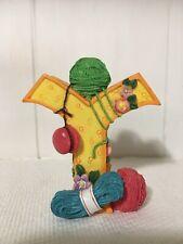 Mary Engelbreit Letter Y Me 1999 Flowers Yo-yo Yarn Figurine
