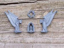 40K Dark Angels Ravenwing Command Bike Shrine Bits