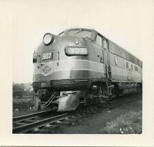6D257 (2) RP 1950s? READING RAILROAD LOCOMOTIVE #907 NEWBERRY JUNCTION PA