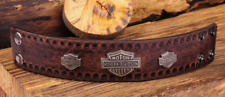 HARLEY DAVIDSON LETHER BRACELET ( USED LIKE NEW)