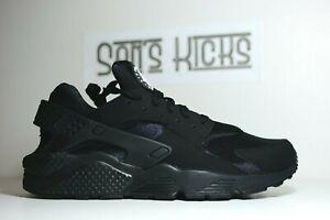 Men's Nike Air Huarache Black Running Shoes [Size 6 - 15] [318429-003]
