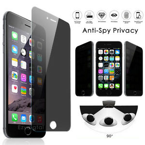 Anti-spy Privacy Tempered Glass Screen Protector For iPhone 12 Pro Max XS XR SE