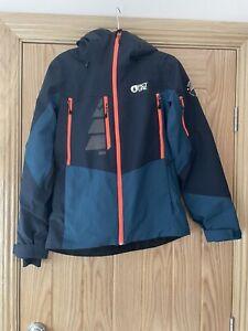 picture organic clothing women's ski jacket size small.
