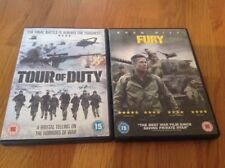 Fury and Tour of Duty DVD's