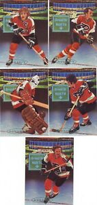 1993/94 PARKHURST DYNASTY PHILADELPHIA FLYERS BROAD ST. TEAM SET 13 CARDS