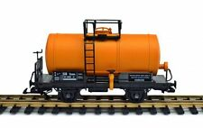 Zenner TANK WAGON CONVERTED by Track G to Gauge 2 (64mm),Orange