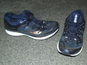 MENS SAUCONY 150 SERIES RUNNING TRAINERS UK SIZE 8  VGC !!!