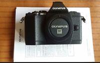Olympus OM-D E-M5 16.1 MP Digital Camera Black (Body Only)  8GB SD Card