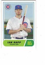 2018 Topps Throwback Thursday '68 Football Design Ian Happ Chicago Cubs #TBT