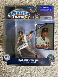 2001 Starting Lineup 2 Baltimore Orioles CAL RIPKEN JR Figure
