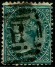 NEW ZEALAND - 1874 1/- 'GREEN' GU SG171 Cv £190 [B0746]