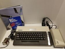 The Atari 800XL Home Computer Special Olympics Box Also Has Paperwork.